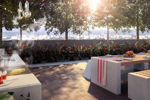 Amani Residences_BBQ Area