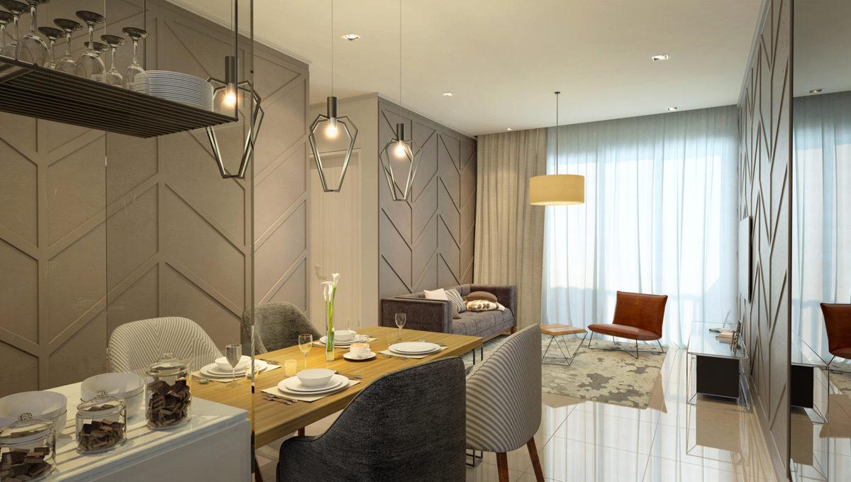 Amani Residences_Block B_Living Room