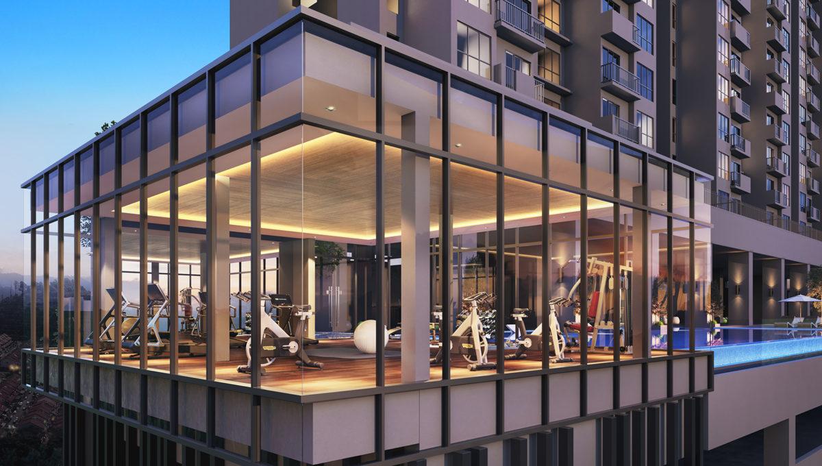 Amani Residences_Gym Room, Gymnasium _ Club House