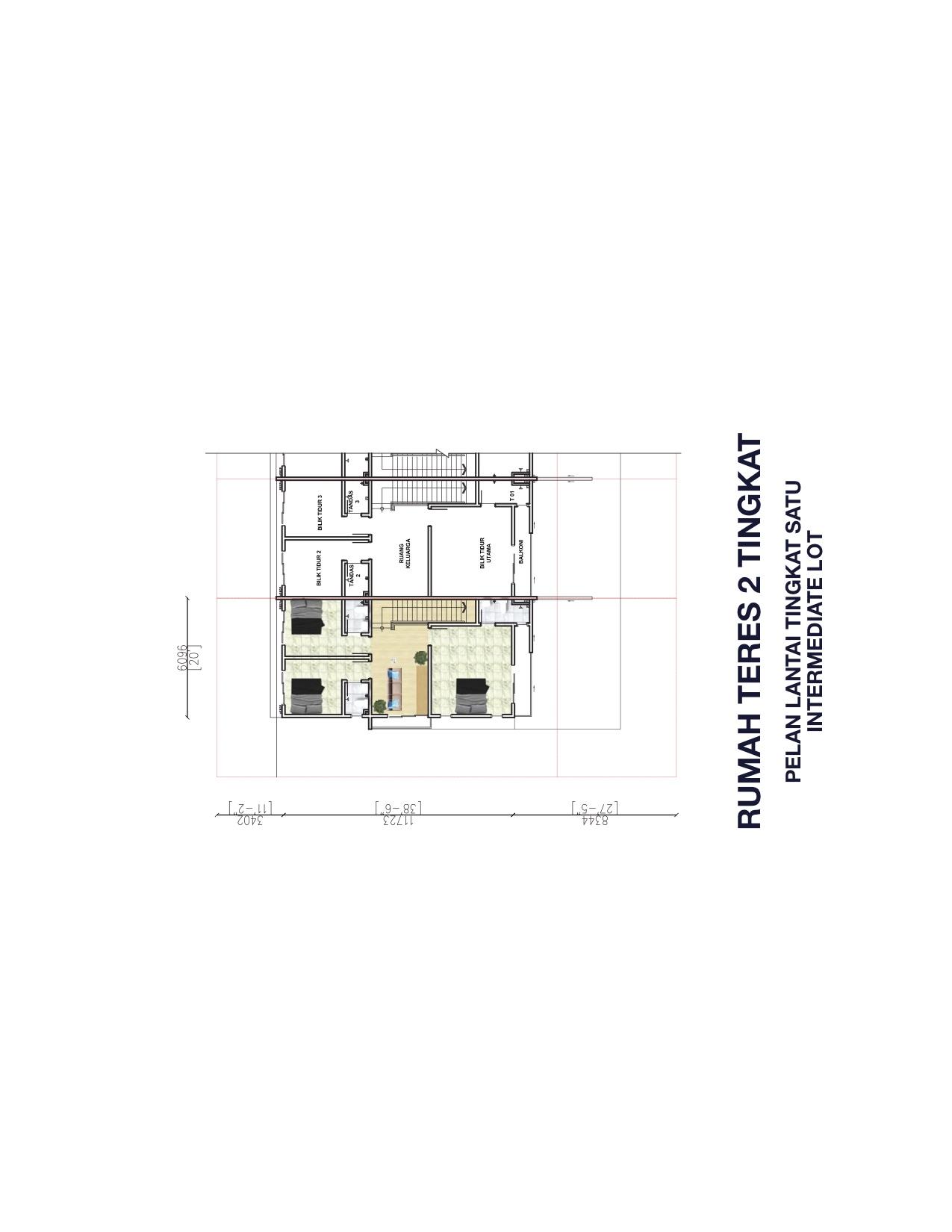 2 Storey Terrace First Floor